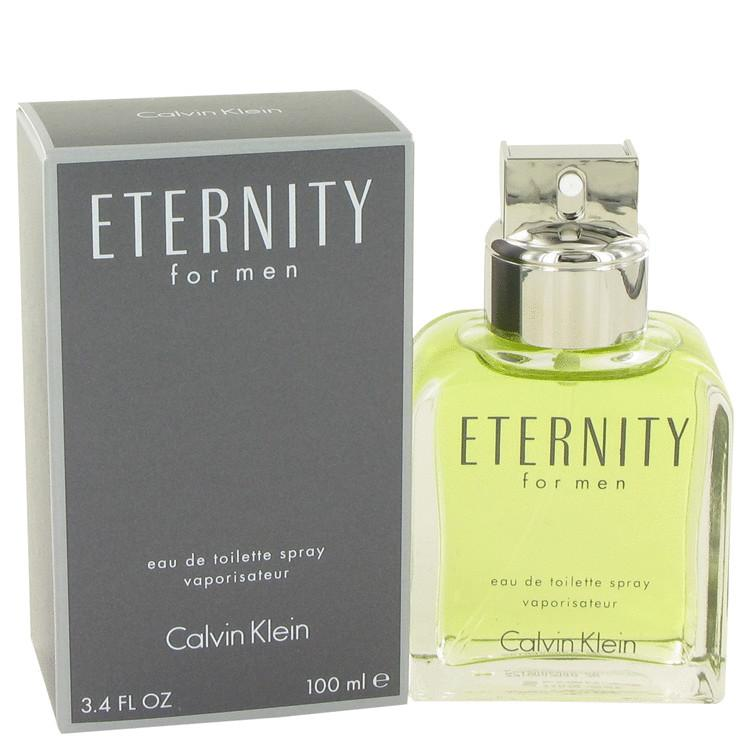 Eternity Eau De Toilette Spray By Calvin Klein - 100 ml (M)