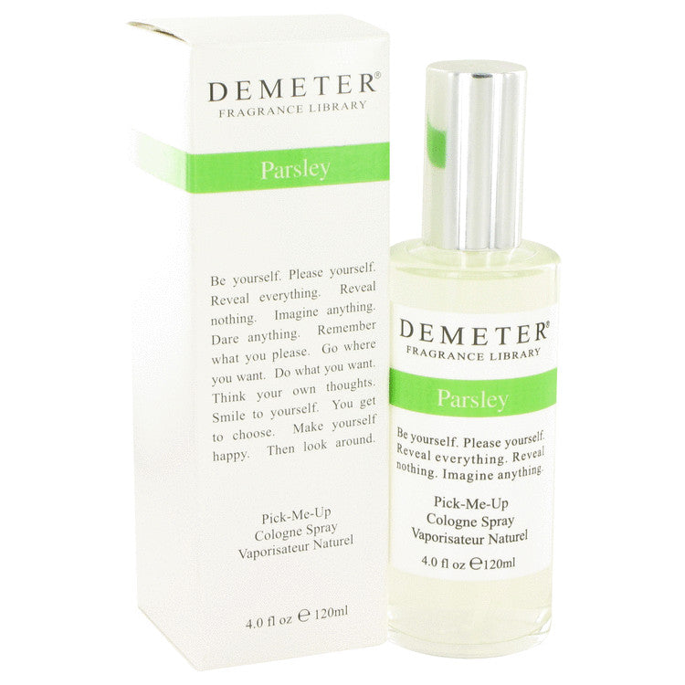 Demeter Parsley by Demeter - Cologne Spray 4 oz (120 ml)(W)