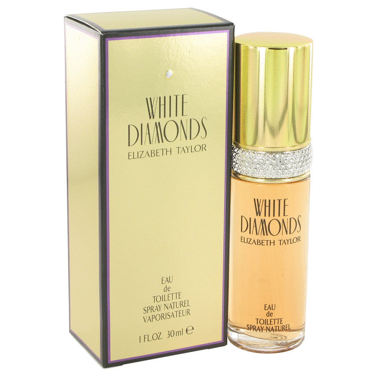 WHITE DIAMONDS by Elizabeth Taylor - Eau De Toilette Spray 1 oz (30 ml)(W)