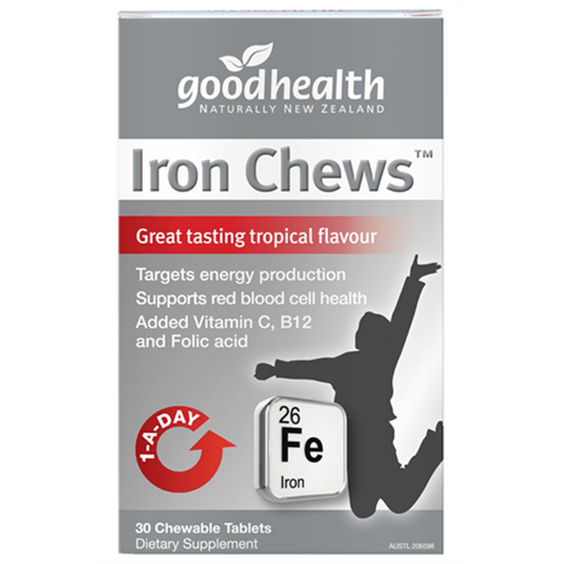 Good Health - Iron Chews (30 Chewable Tablets)