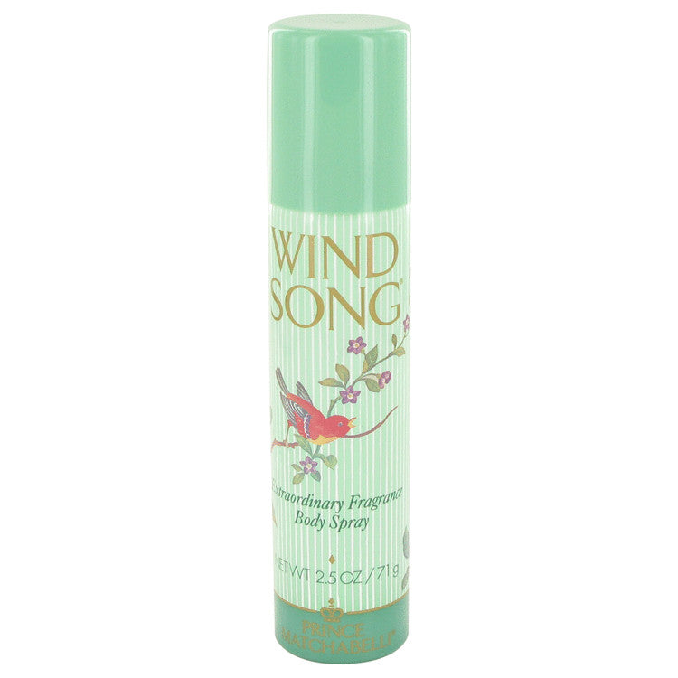 WIND SONG by Prince Matchabelli - Deodorant Spray 2.5 oz (75 ml)(W)
