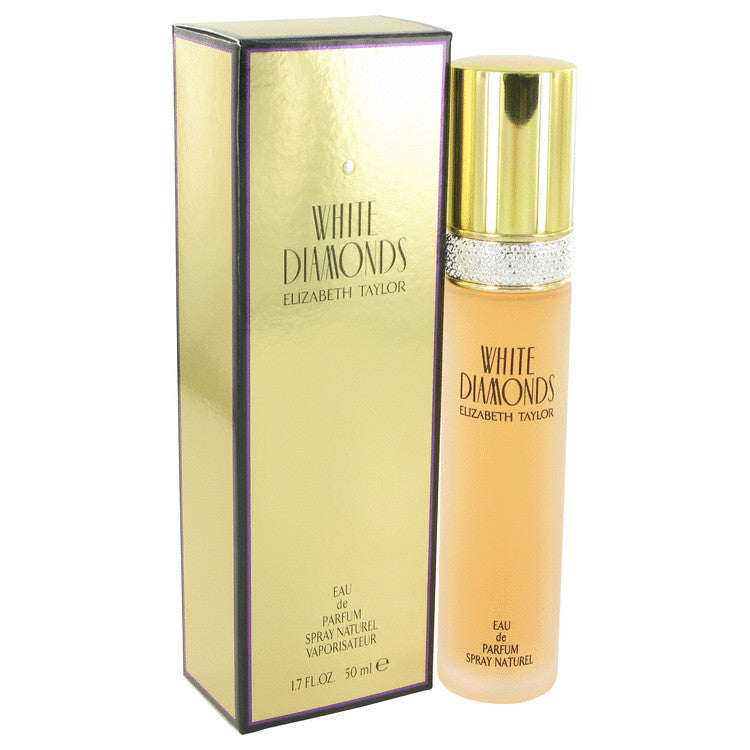 WHITE DIAMONDS by Elizabeth Taylor - Eau De Parfum Spray 1.7 oz (50 ml)(W)
