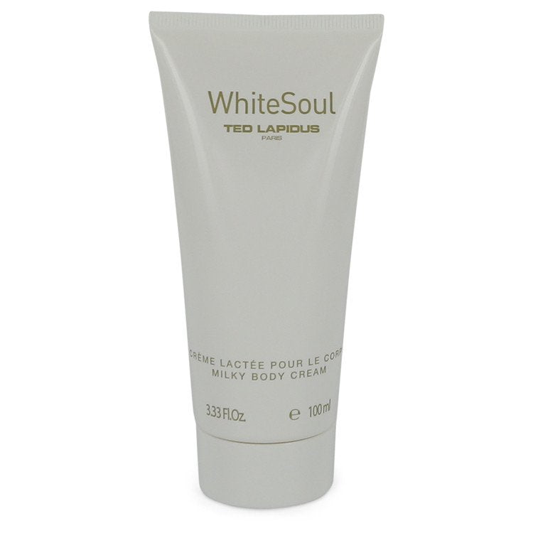 White Soul by Ted Lapidus - Body Milk 3.4 oz (100 ml)(W)