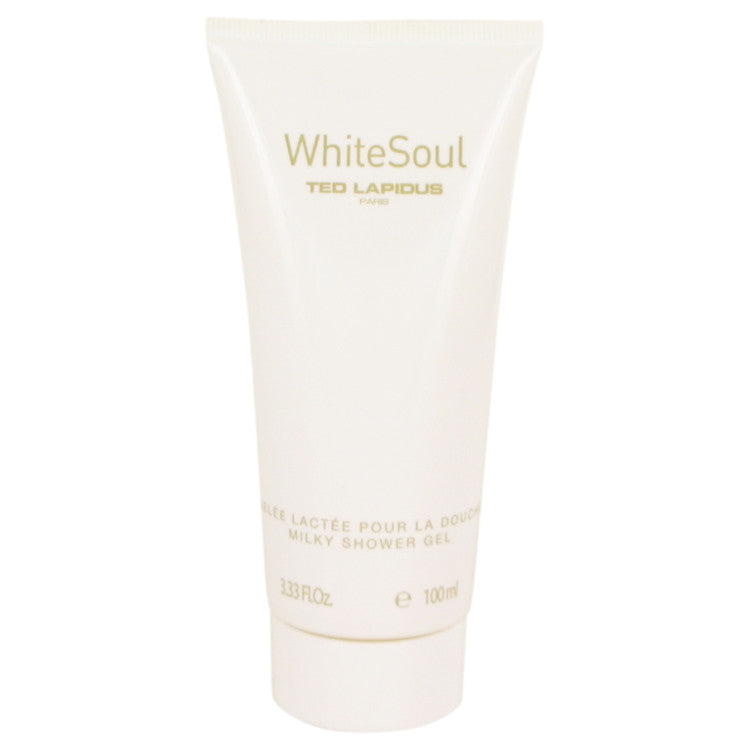 White Soul by Ted Lapidus - Shower Gel 3.4 oz (100 ml)(W)