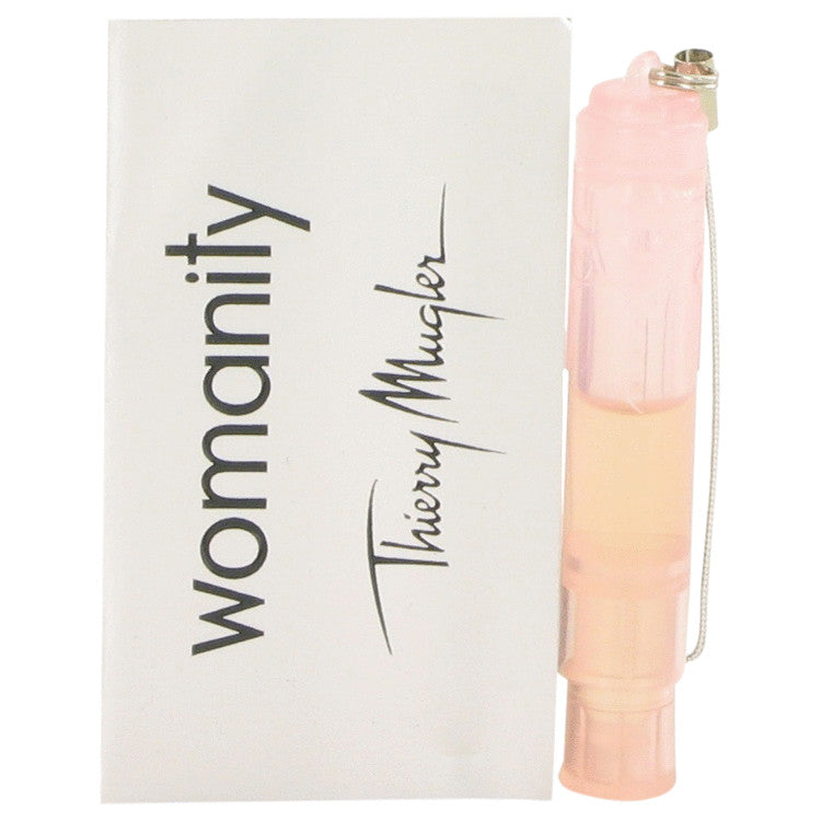 Womanity by Thierry Mugler - Vial (Sample) .04 oz (1 ml)(W)