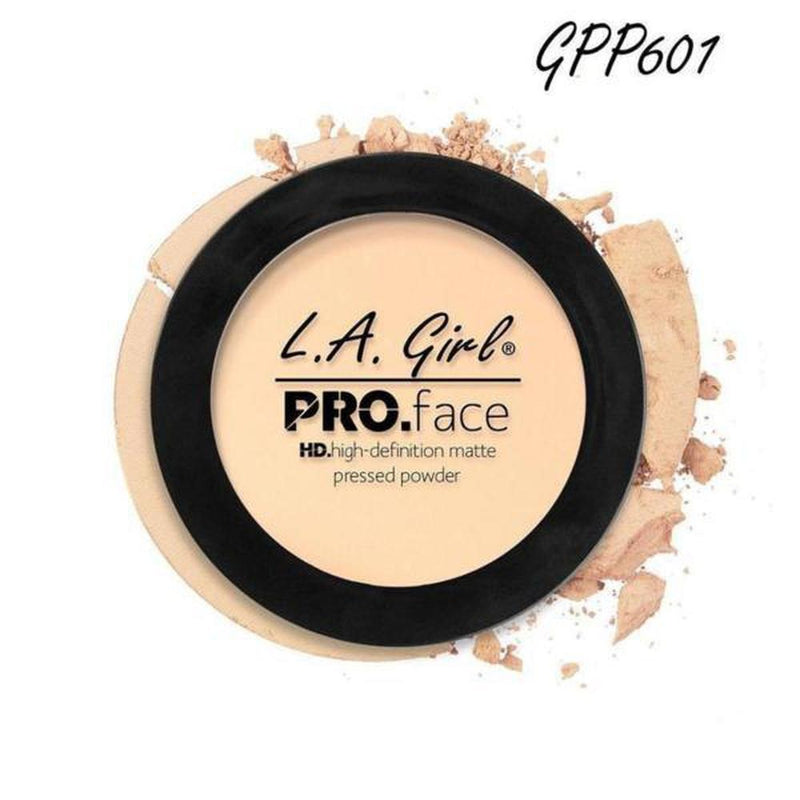 L. A. Girl Pro Face Matte Pressed Powder - GPP601 Fair-L. A. Girl-FACE-Pressed Powder-NZOutlet