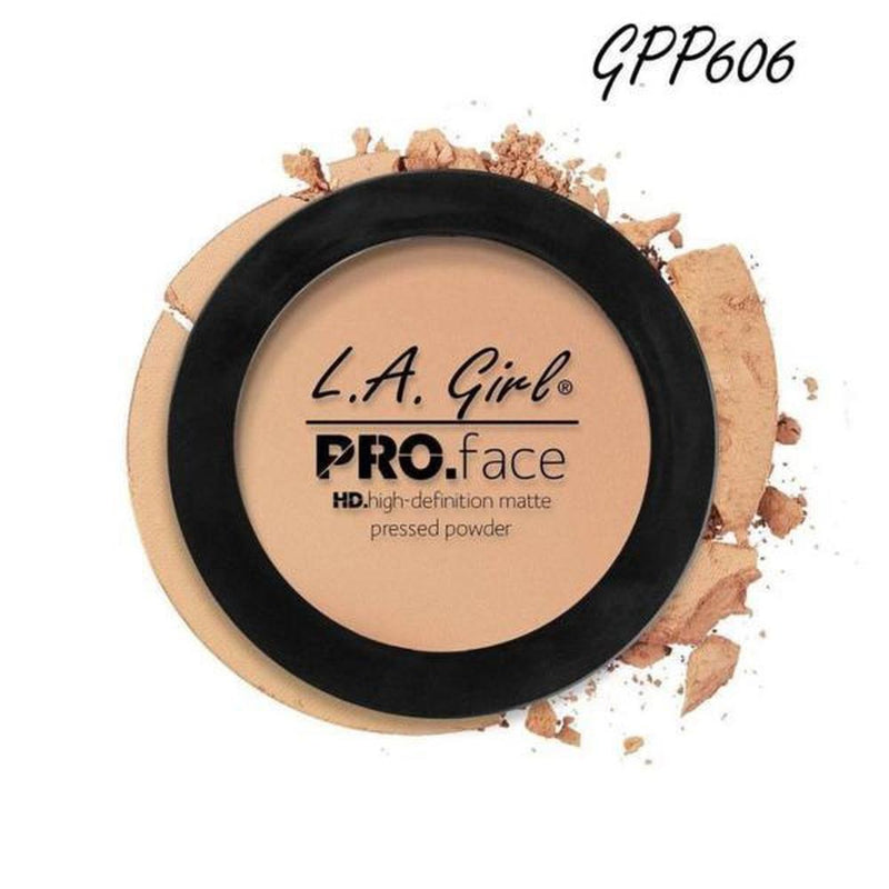 L. A. Girl Pro Face Matte Pressed Powder - GPP606 Buff-L. A. Girl-FACE-Pressed Powder-NZOutlet