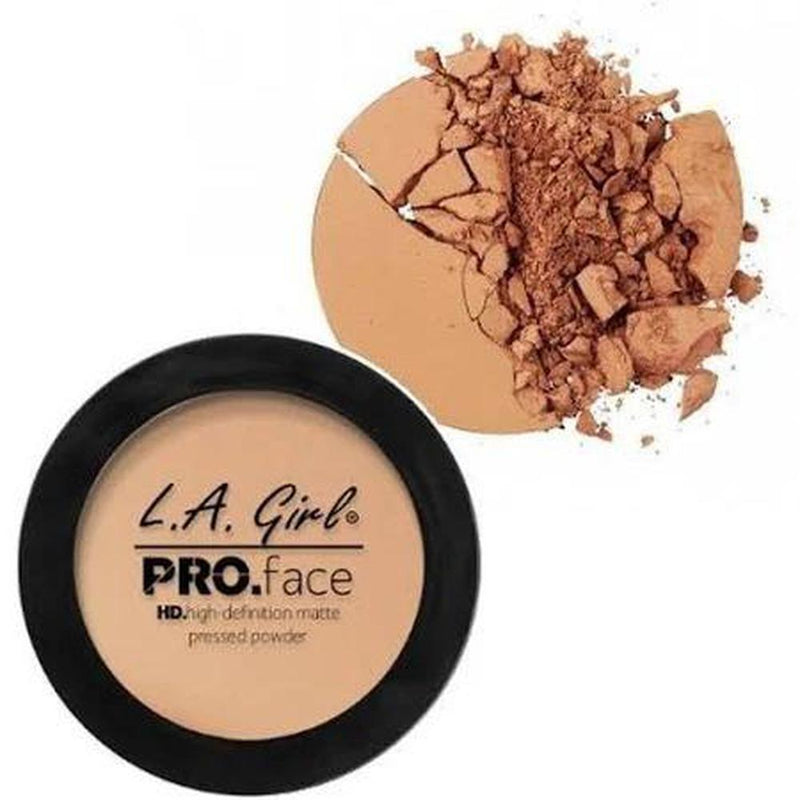 L. A. Girl Pro Face Matte Pressed Powder - GPP607 Warm Honey-L. A. Girl-FACE-Pressed Powder-NZOutlet