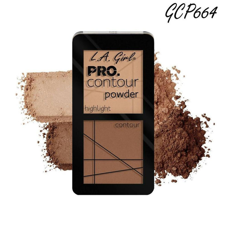 L. A. Girl Pro Contour Powder - GCP664 Medium-L. A. Girl-FACE-Contour-NZOutlet
