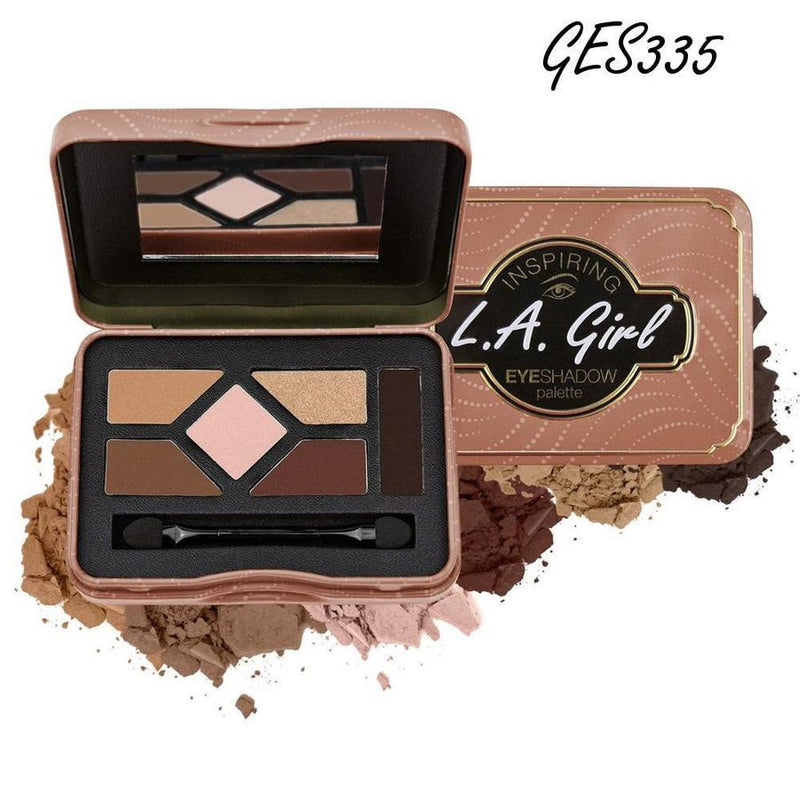 L. A. Girl Inspiring Eyeshadow Palette - GES335 Naturally Beautiful-L. A. Girl-EYES-Eyeshadow-NZOutlet