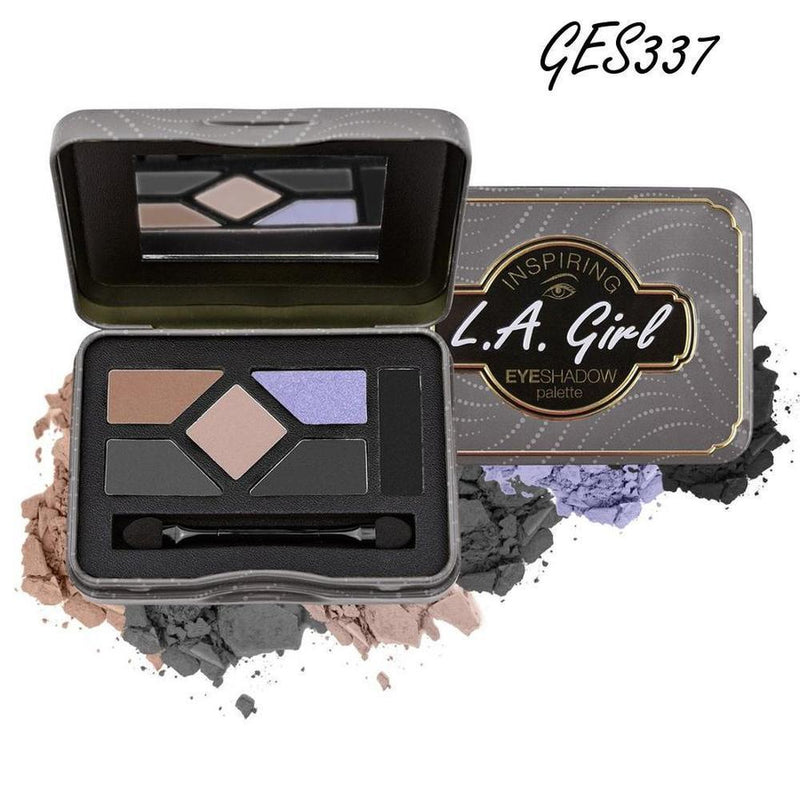 L. A. Girl Inspiring Eyeshadow Palette - GES337 You'Re Smokin' Hot!-L. A. Girl-EYES-Eyeshadow-NZOutlet