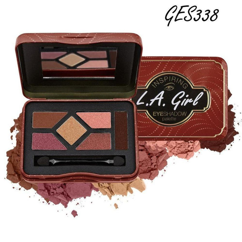L. A. Girl Inspiring Eyeshadow Palette - GES338 Be Bold & Beautiful-L. A. Girl-EYES-Eyeshadow-NZOutlet