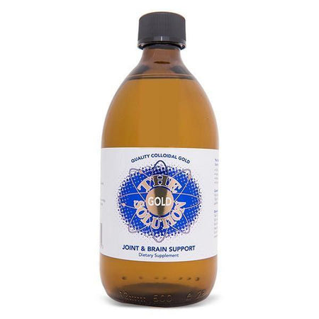 Colloidal Gold - The Gold Solution (200 ml)-Colloidal Health Solutions-Supplements - Minerals-NZOutlet