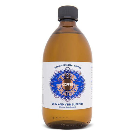 Colloidal Copper - The Copper Solution (110 ml)-Colloidal Health Solutions-Supplements - Minerals-NZOutlet