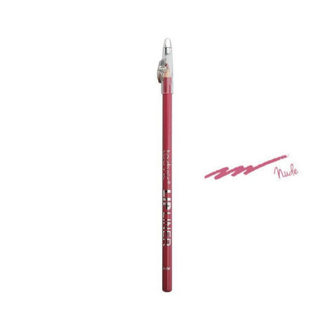 Lip Liner Pencil & Sharpener By Technic - Nude-Technic-LIPS-Lip Liner-NZOutlet