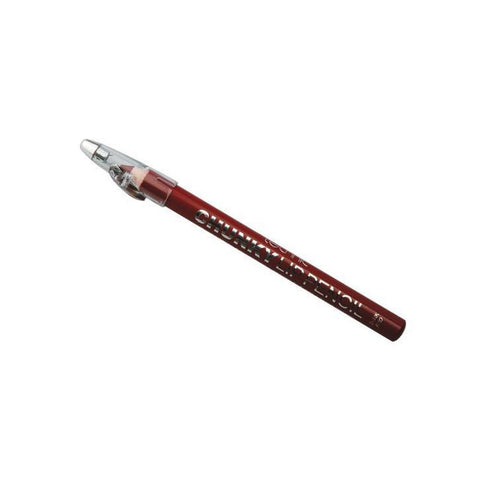 Chunky Lip Pencil By Technic - Dark Red-Technic-LIPS-Lip Liner-NZOutlet