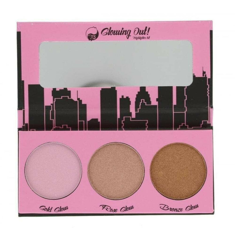 W7 Glowing Out! Highlighter Kit-W7-FACE-Highlighter-NZOutlet