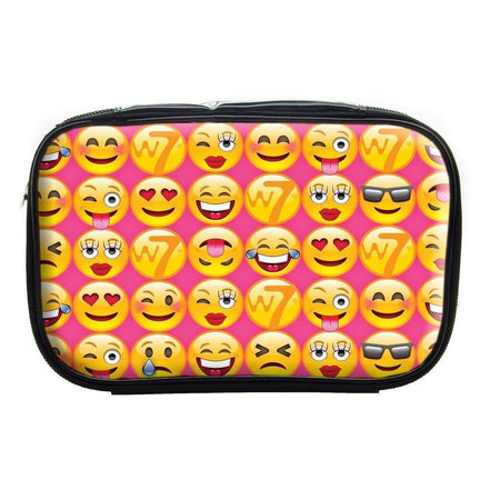 Pvc Emoji Cosmetics Bag By W7-W7-TOOLS-Cosmetics Bag-NZOutlet