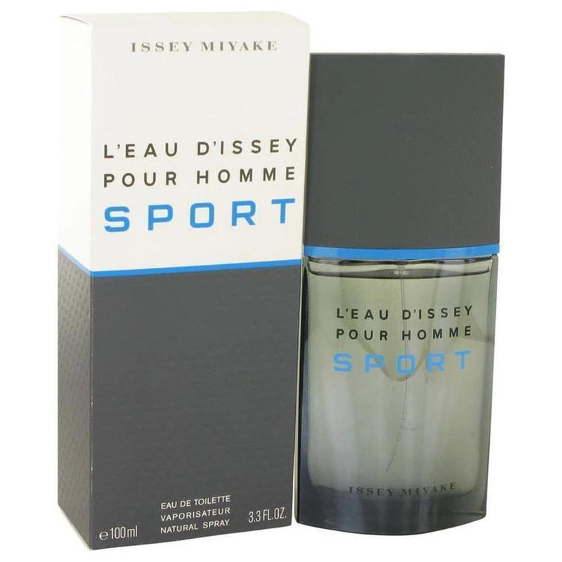 L'Eau D'Issey Pour Homme Sport By Issey Miyake - 3.4 oz/100 ml EDT For Him-Issey Miyake-Men's-EDT-NZOutlet
