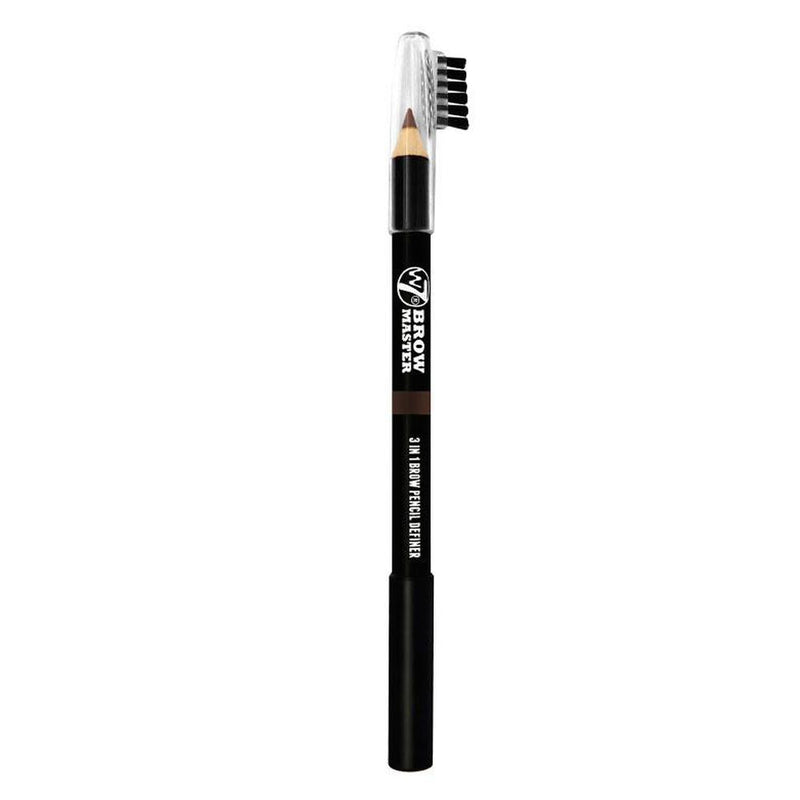 Bro Master 3 In 1 Brow Pencil By W7 - Brown-W7-EYES-Eyebrow Pencil-NZOutlet