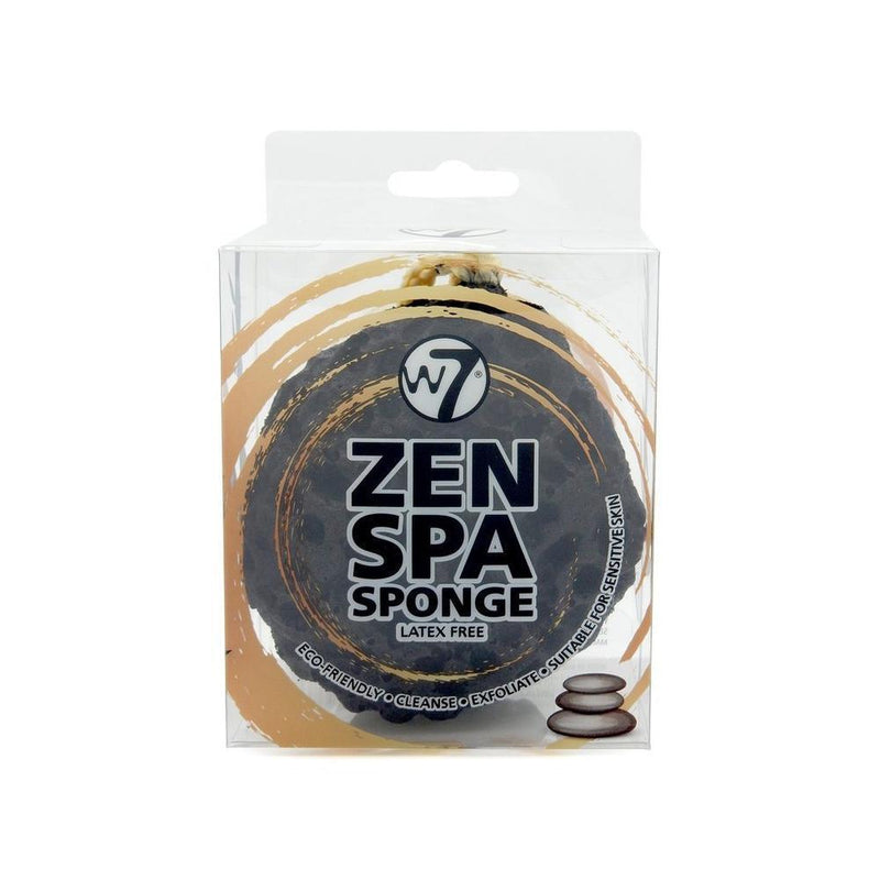 Zen Spa Sponge By W7 - Black-W7-TOOLS-Spa Sponge-NZOutlet