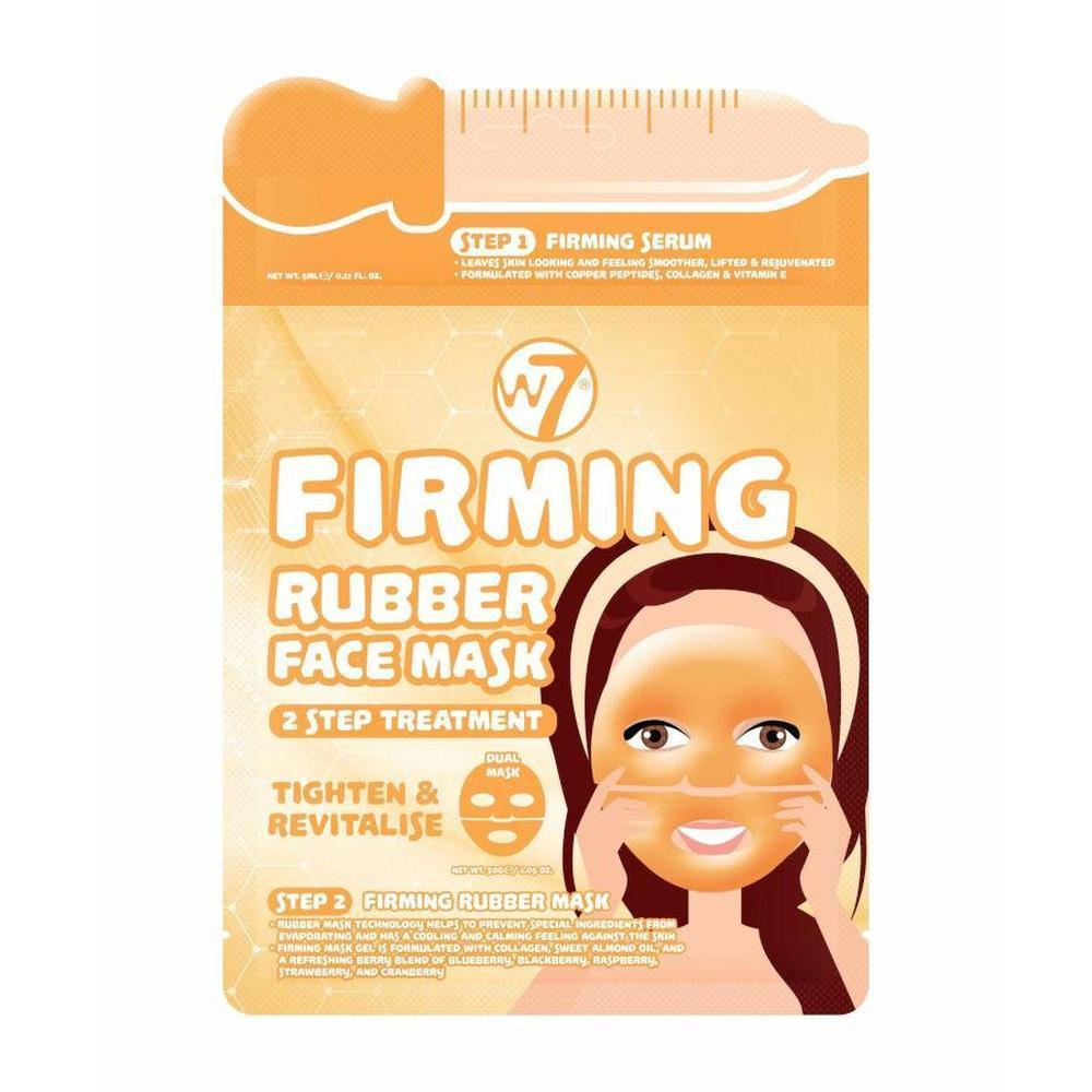 W7 Firming 2 Step Treatment Rubber Face Mask-W7-SKIN-Face Mask-NZOutlet
