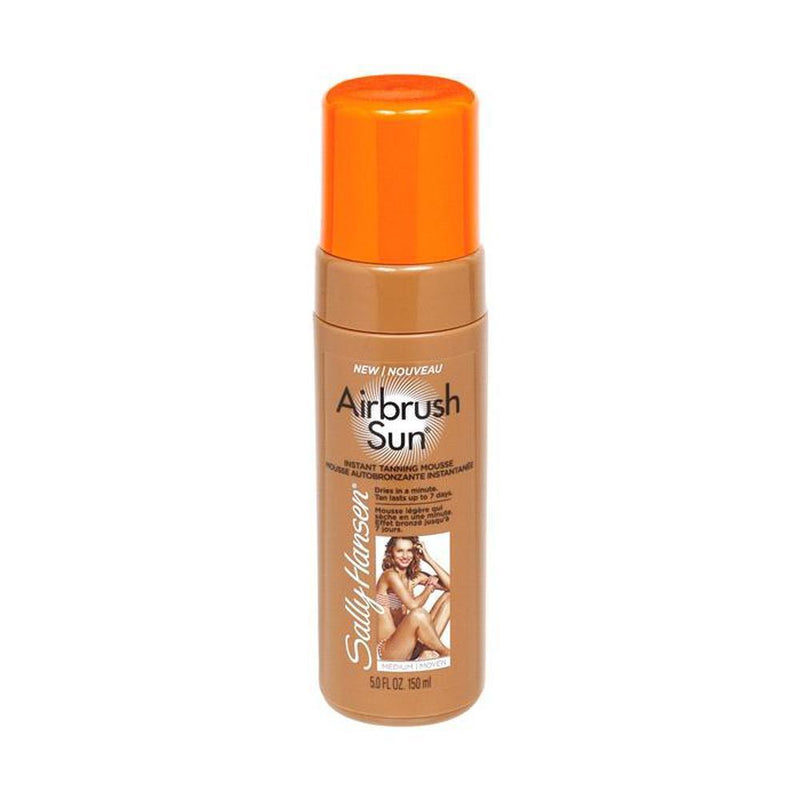 Sally Hansen Airbrush Sun Instant Tanning Mousse - Medium-Sally Hansen-BODY-Self Tan-NZOutlet