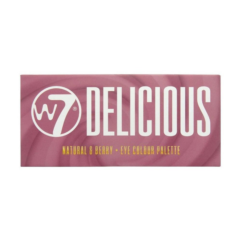 W7 Delicious Natural & Berry Eye Colour Palette-W7-EYES-Eyeshadow-NZOutlet