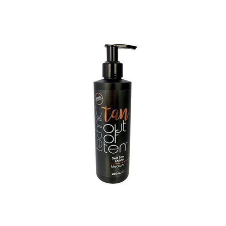Technic Tan Out Of Ten Self Tan Lotion (Medium)-Technic-BODY-Self Tan-NZOutlet