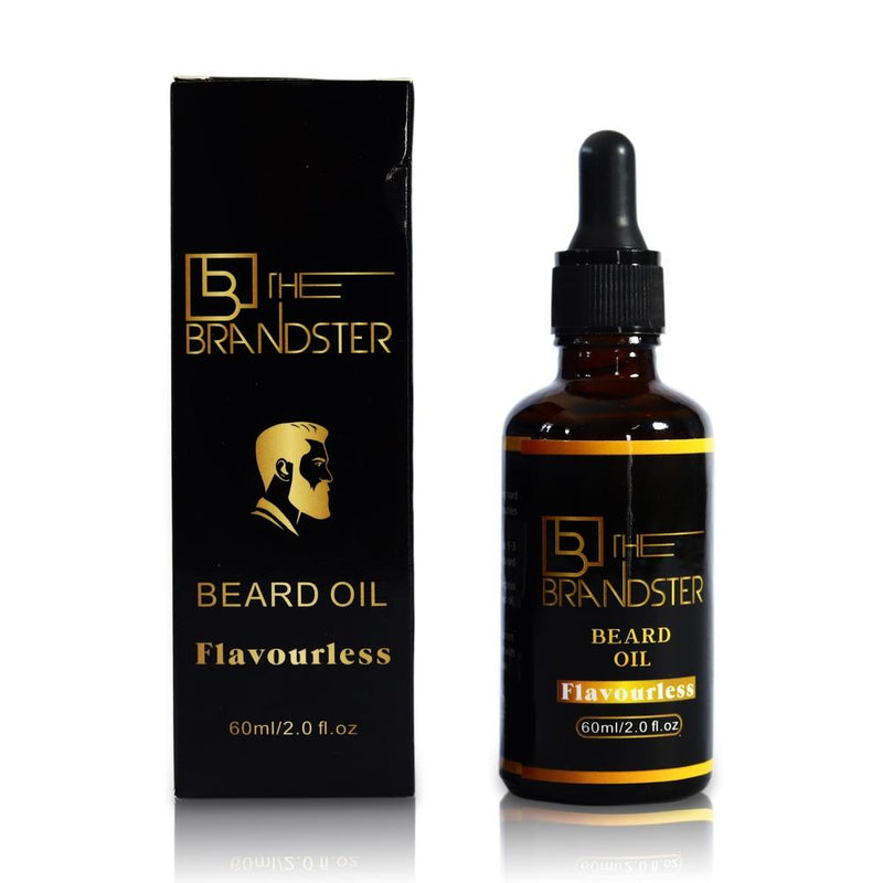 The Brandster Beard Oil - Flavourless-The Brandster NZ-Men's Grooming-NZOutlet