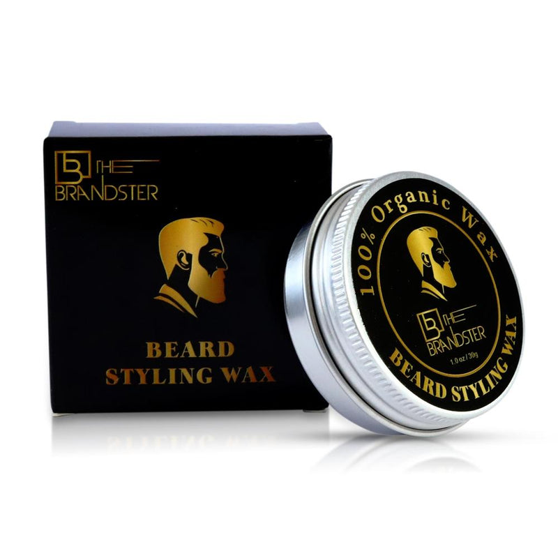 The Brandster Beard Styling Wax-The Brandster NZ-Men's Grooming-NZOutlet