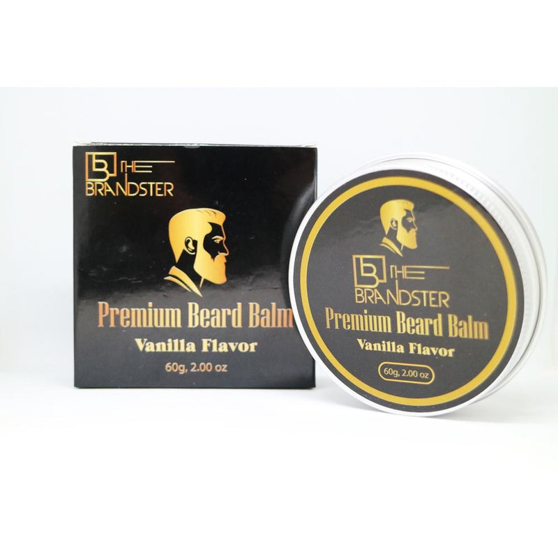 The Brandster Beard Balm - Vanilla-The Brandster NZ-Men's Grooming-NZOutlet