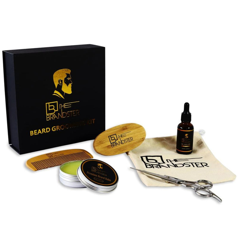 The Brandster Beard Kit - Flavourless-The Brandster NZ-Men's Grooming-NZOutlet