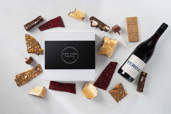 The Chocolate + Red Wine Gift Box