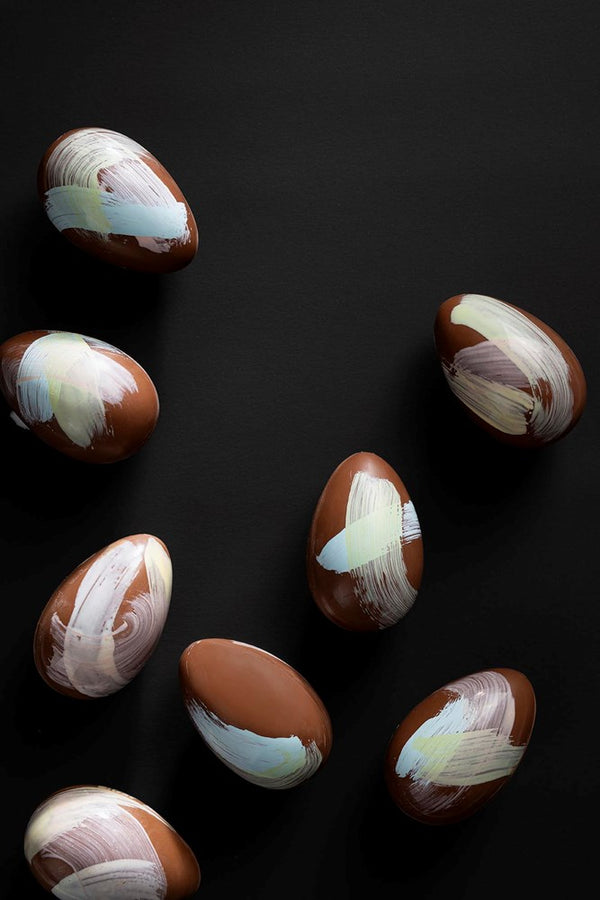 Milk Chocolate Hand Painted Hollow Easter Egg