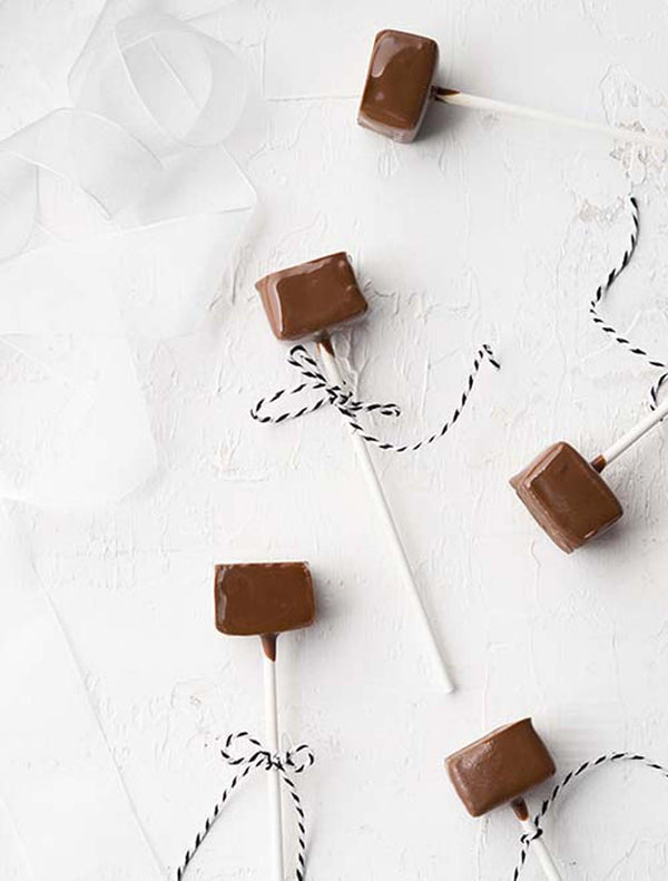 Choc Dipped Salted Caramel Lollipop each