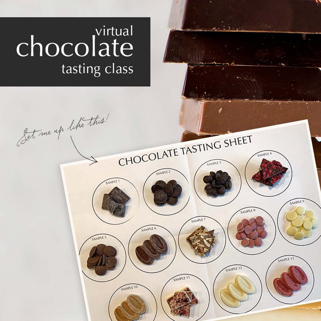 Virtual Chocolate Tasting Class
