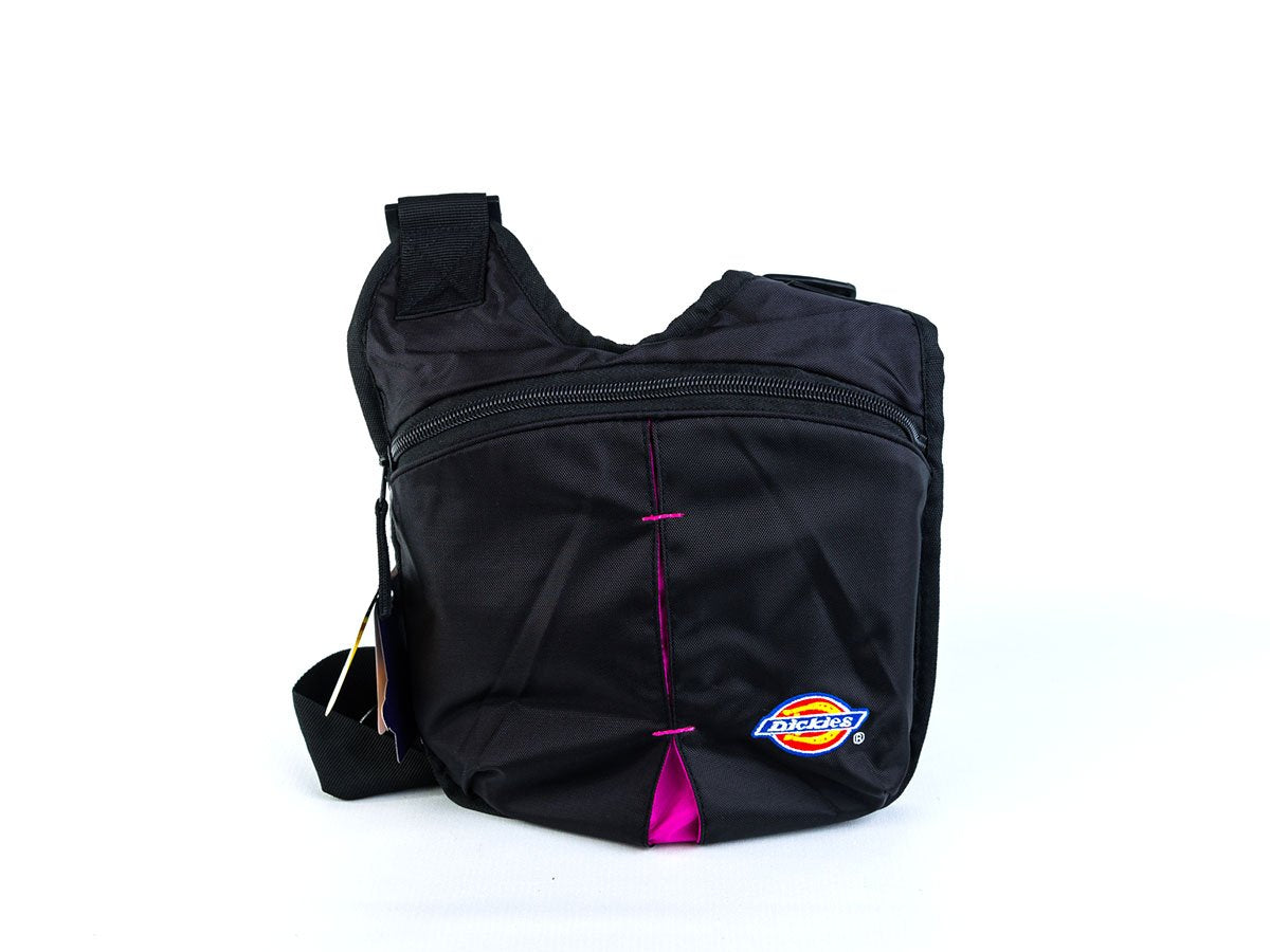 e9f584e386 Dickies Publicist Shoulder Bag ( Black with pink ) (Model no. 160035 ...
