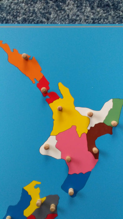 Let's move past the traditional Montessori  puzzle maps