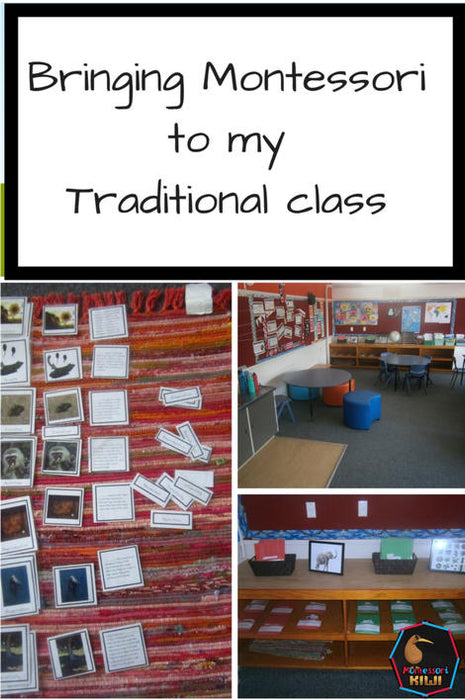 Bringing Montessori into a traditional classroom
