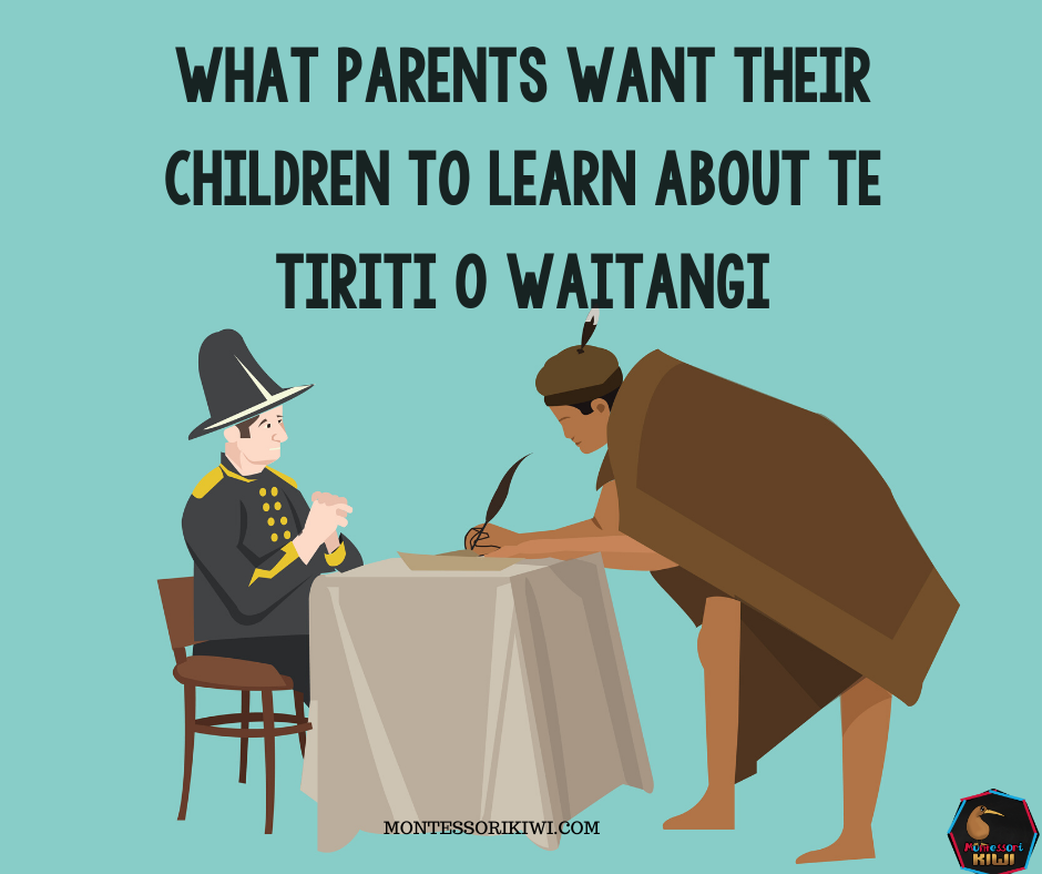 What (some) families want you to know about Teaching Te Tiriti o Waitangi