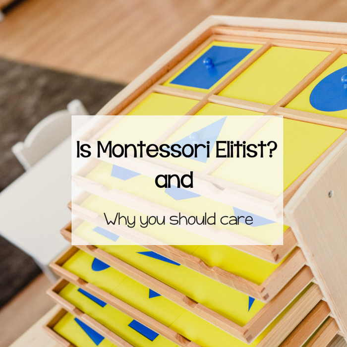 Is Montessori Elitist?