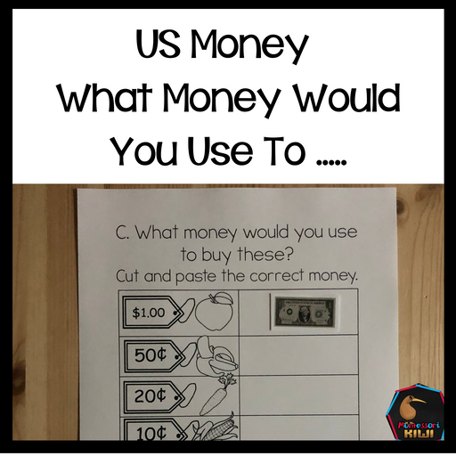 US Money What money would you use to ..... - montessorikiwi