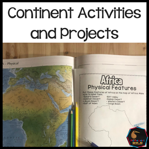 Continent Activities and Projects - montessorikiwi