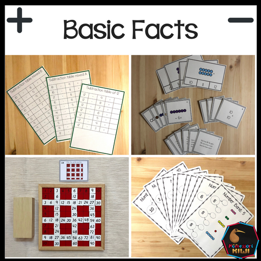 Montessori Math Bundle - montessorikiwi
