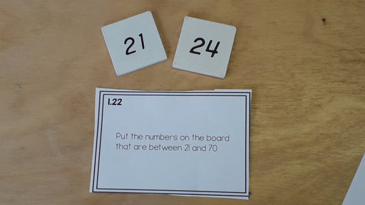 Montessori math: hundreds board task cards - montessorikiwi