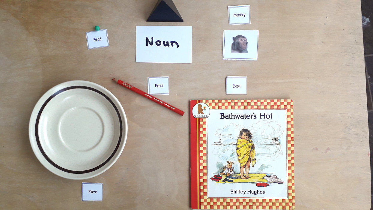 Noun labelling game - montessorikiwi