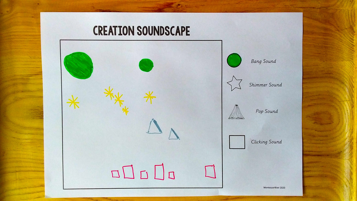 Creation Soundscapes (Music Activity) - montessorikiwi