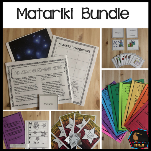 Matariki Bundle - montessorikiwi