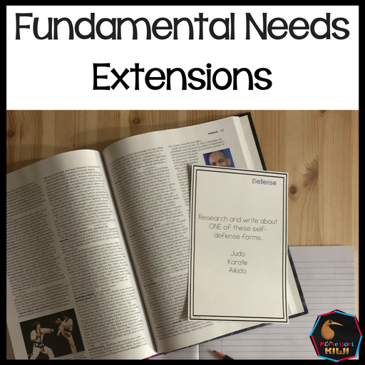 Fundamental Needs Extensions - montessorikiwi
